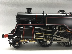 "British live steam BR Standard Class 4MT 2-6-4T coal or gas fired Gauge 3 (2 1/2"")"