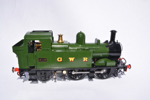GWR 0-4-2T Gas Fired