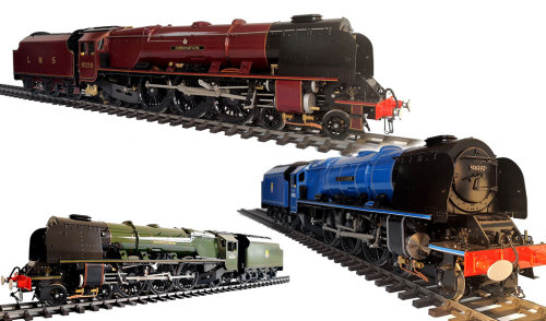 Coronation class Pacifics 1/32 scale  45mm track
